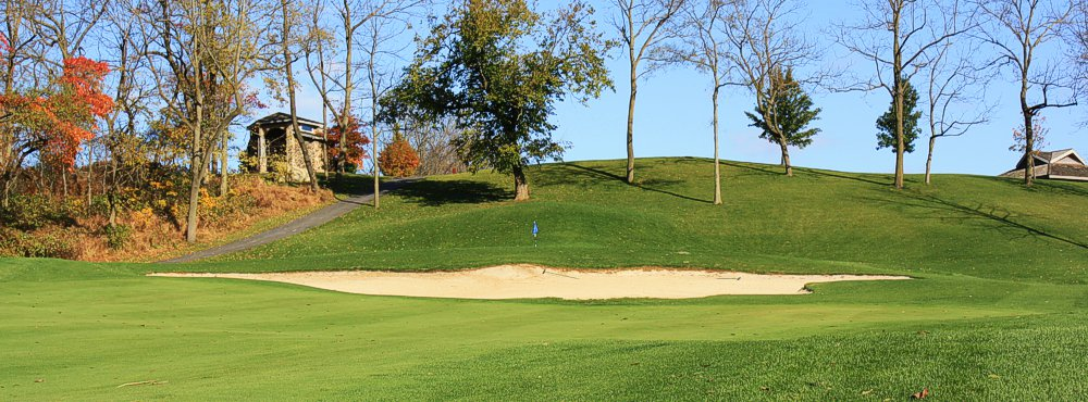 Golf Course Sand Trap - Easton, PA - Riverview Country Club